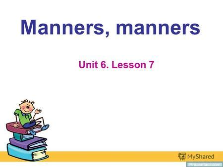 Good manners essay english